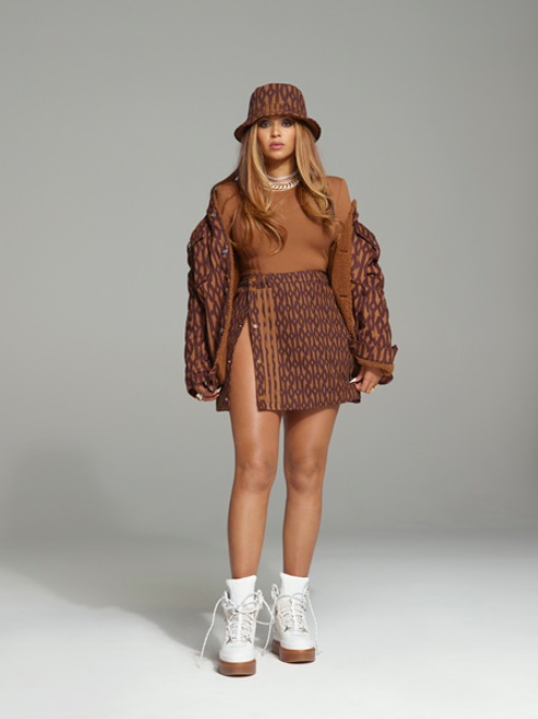 Beyonce x Adidas collaboration marron - Minute Luxe Magazine