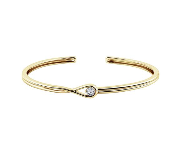 Pandora Collection Brillante Diamants de laboratoire de luxe en bracelet - Minute Luxe Magazine