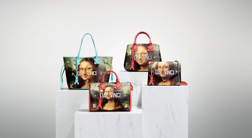 Jeff Koons x Louis Vuitton collaboration Mona Lisa - Minute Luxe Magazine
