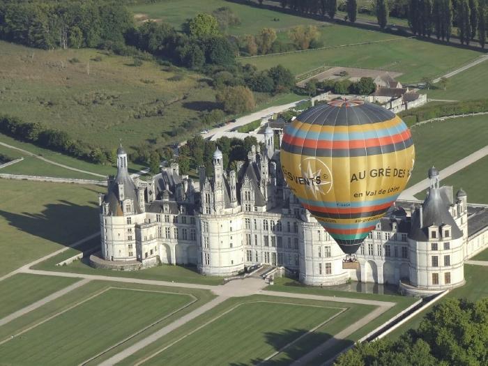 Vol en mongolfière insolite Château de Chambord