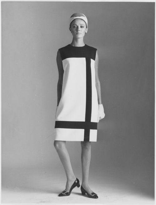 Collaboration Yves Saint Laurent x Mondrian Robe de luxe - Minute Luxe Magazine