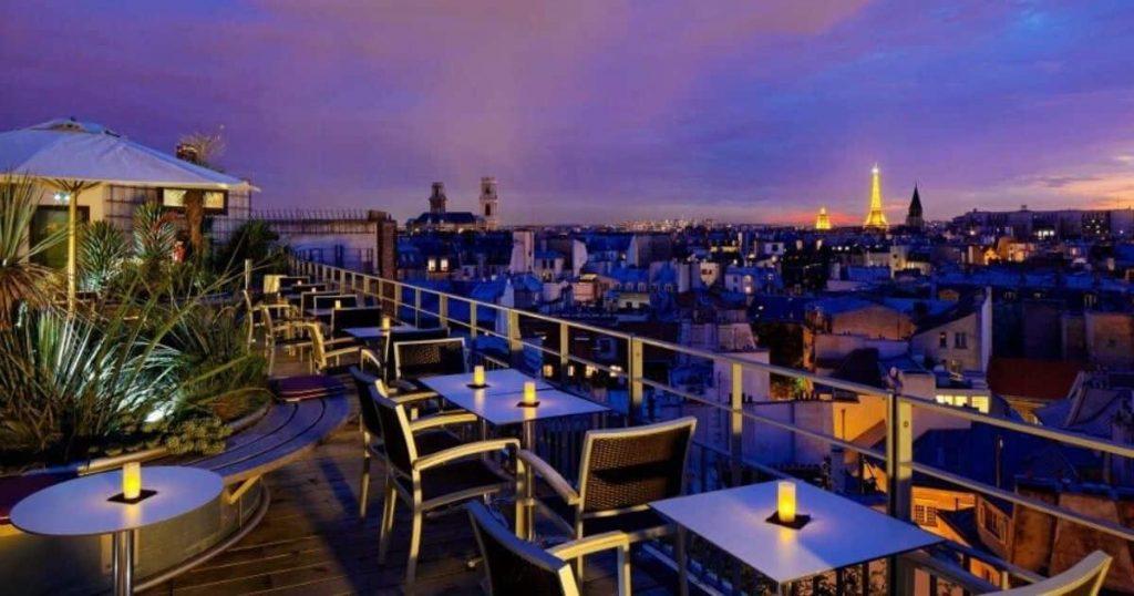 Le 43 rooftop Paris - Minute Luxe Magazine