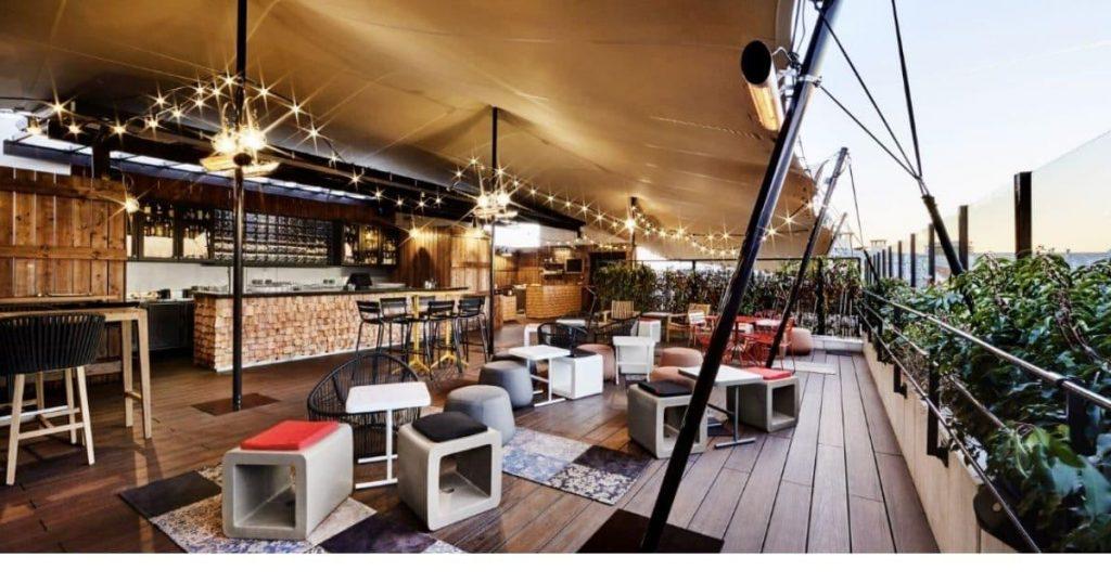 Bar Rooftop Paris Khayma Paris - Minute Luxe Magazine