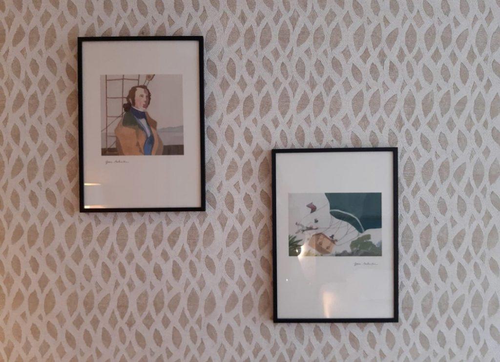 hôtel littéraire Biarritz Jules vernes chambre tableau art