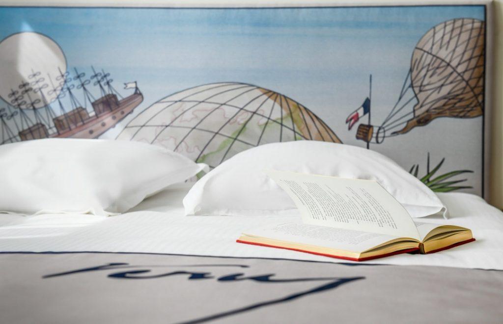hôtel littéraire Biarritz Jules vernes chambre double luxe