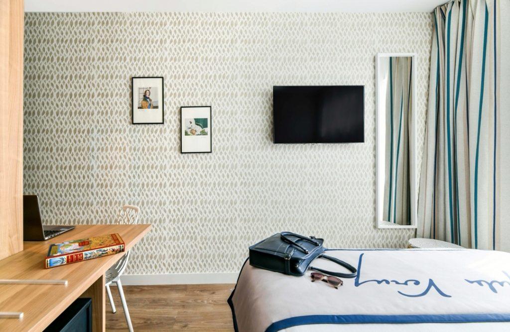 hôtel littéraire Biarritz Jules vernes chambre double luxe minute magazine design