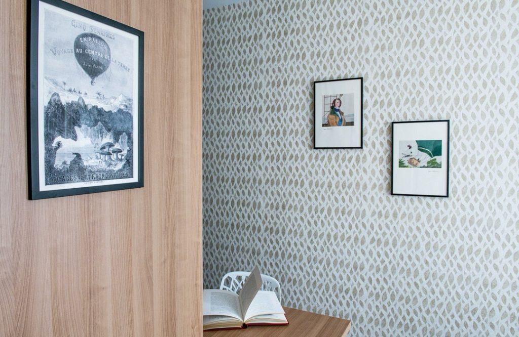 hôtel littéraire Biarritz Jules vernes chambre double luxe design