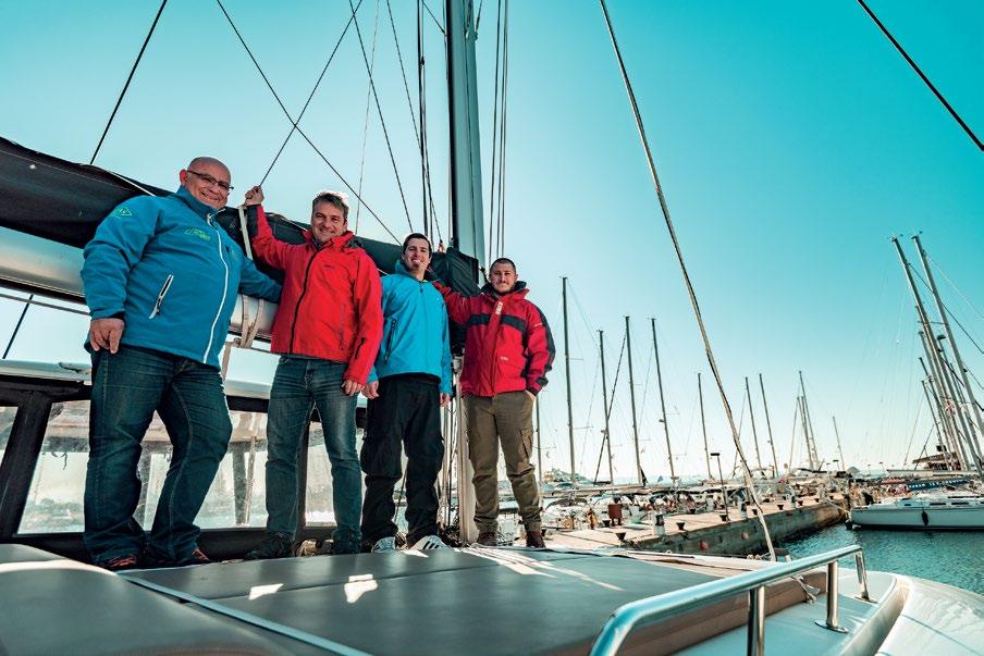 Bax Yachting Grèce Croisières luxe fondateurs