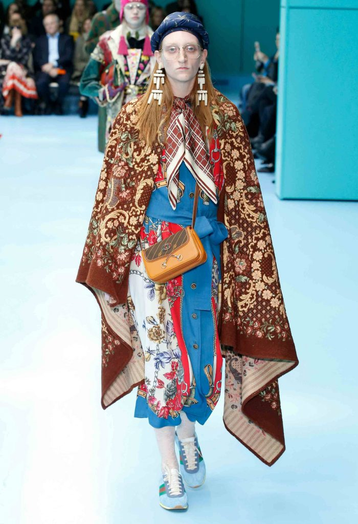 Gucci fashion week défilé mode minute luxe magazine