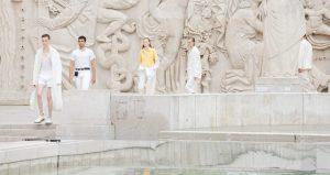 LGN louis Gabriel nouchi défilé mode fashion week 2022 minute luxe magazine