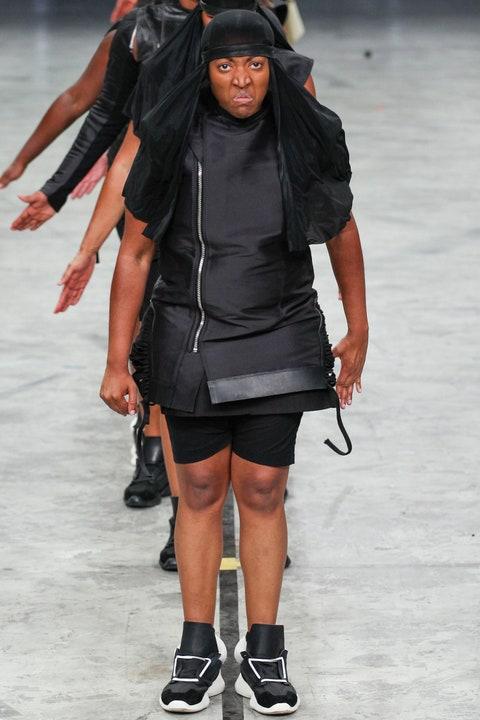 Rick Owens fashion week défilé mode minute luxe magazine