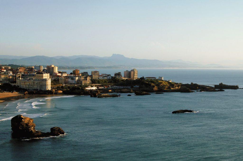hôtel littéraire Biarritz Jules vernes chambre vue mer
