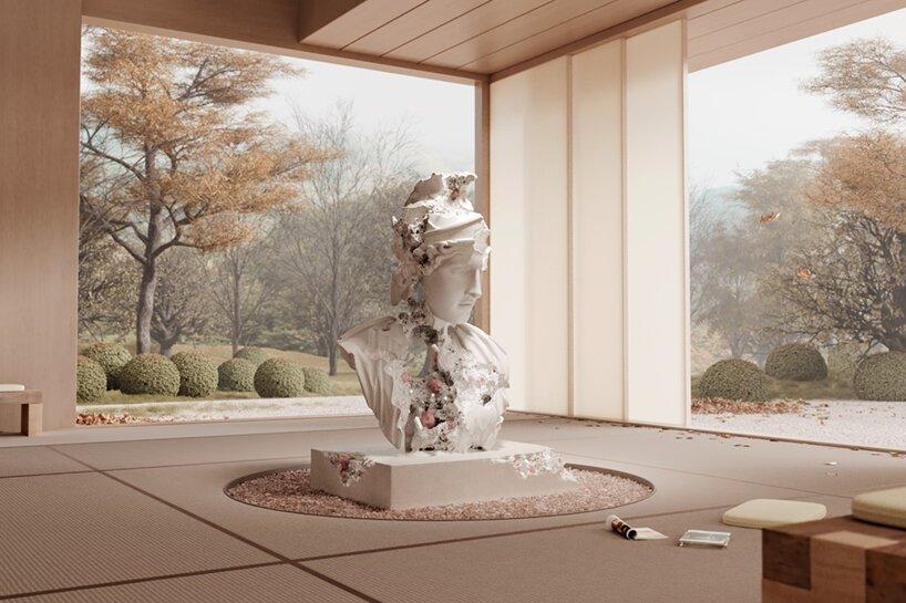 Daniel Arsham Studio - automne - art - minute luxe magazine - ntf token