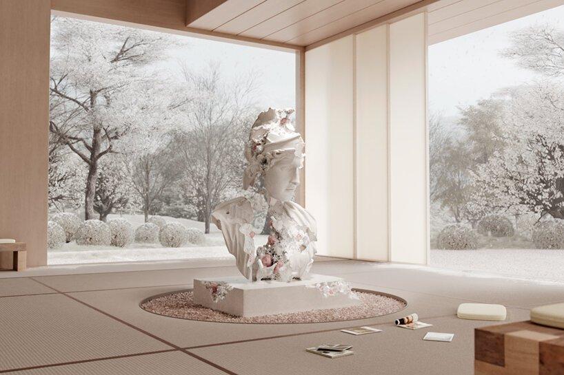 Daniel Arsham Studio - hiver - art - minute luxe magazine - ntf token