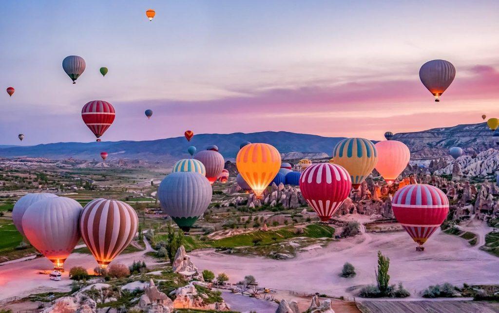 festival montgolfiere Cappadoce en Turquie