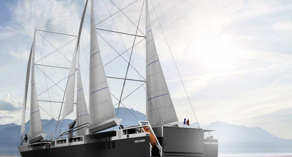 Clarins x Neoline : Un transport maritime écologique en 2021