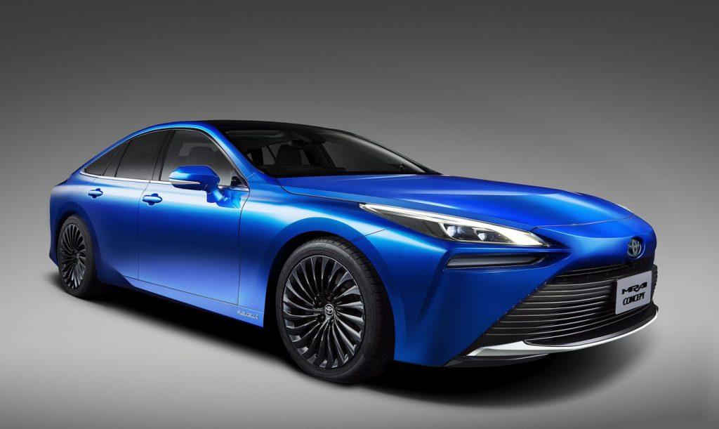 toyota-mirai-concept voiture hydrogène minute luxe magazine