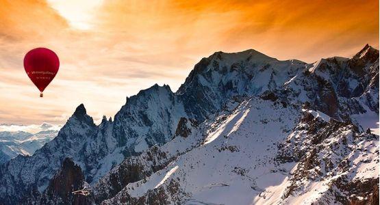 vol insolite Montgolfière mont blanc minute luxe magazine