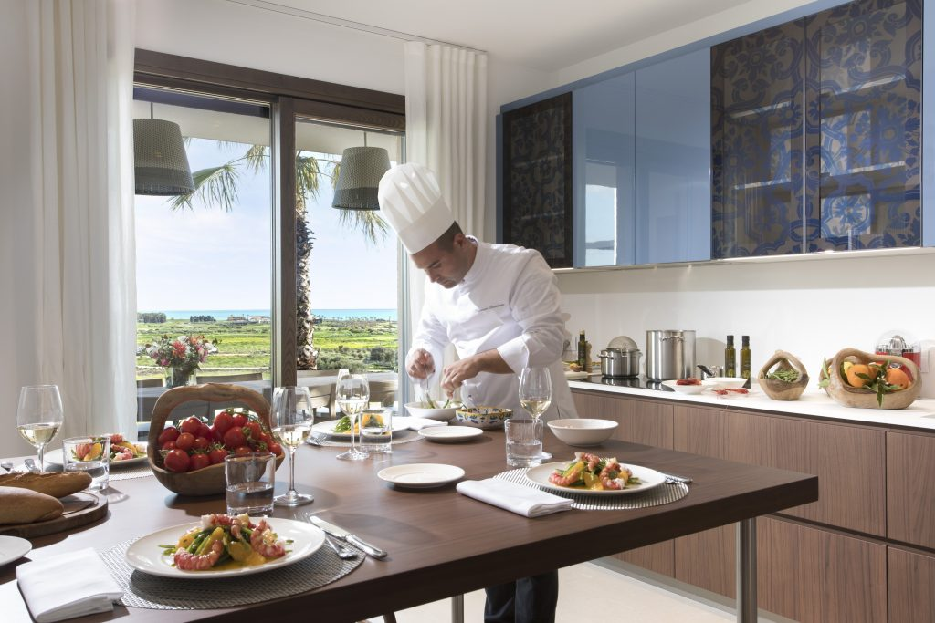 Rocco Forte Private Villas Verdura Resort Sicile Minute luxe magazine cuisinier restaurant