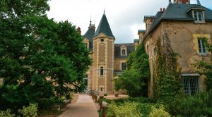 sources cheverny château vert