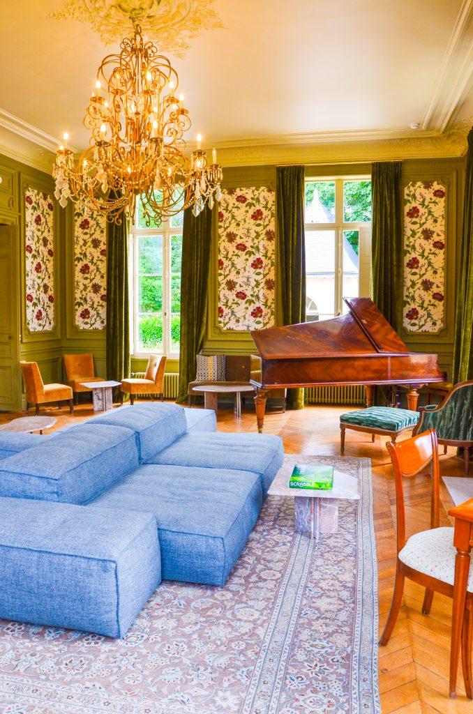 sources de cheverny salon luxe piano detente week end