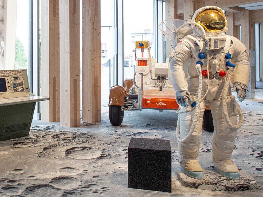 Matériels spatiales Musée OMEGA - Minute Luxe