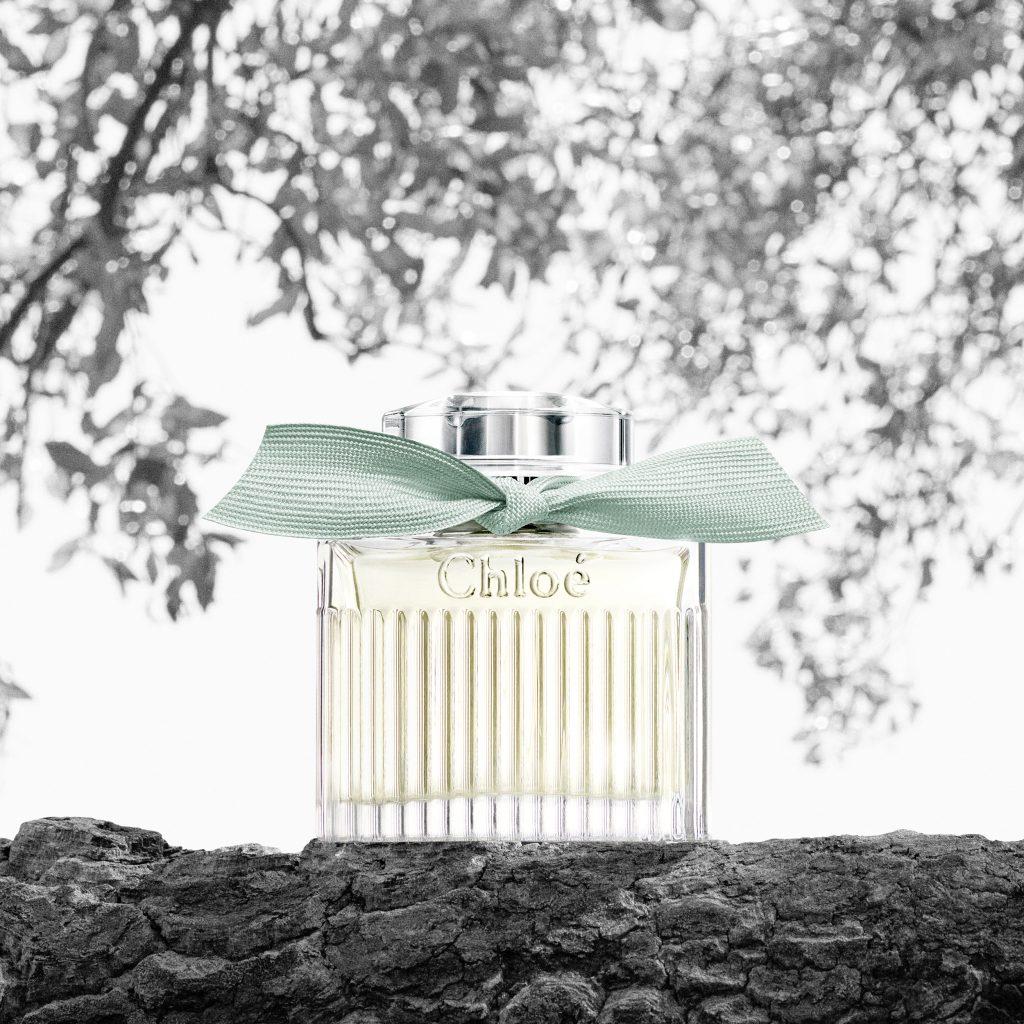 parfum Chloe Retail bottle Picto vigne bouteille chic luxe
