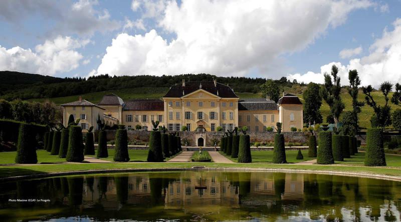 Extérieur du château de la Chaize